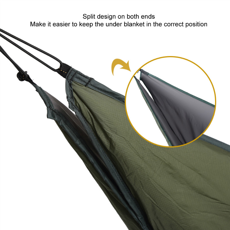 o igris lightweight full length hammock underquilt under blanket 40 f to 68 f  5 c to 20 c  in sleeping bags from sports  u0026 entertainment on aliexpress       o igris lightweight full length hammock underquilt under blanket      rh   aliexpress