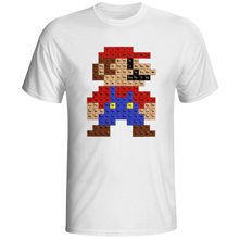 Super Video Game T Shirt Parody Design Fashion Creative Popular T-shirt Cool Casual Novelty Funny Tshirt Style Tee