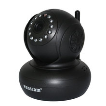 Wanscam JW0005  P2P Wireless WIFI IP Security Camera With Night Vision Infrared Dual Audio Pan/Tilt Support 32G TF Card