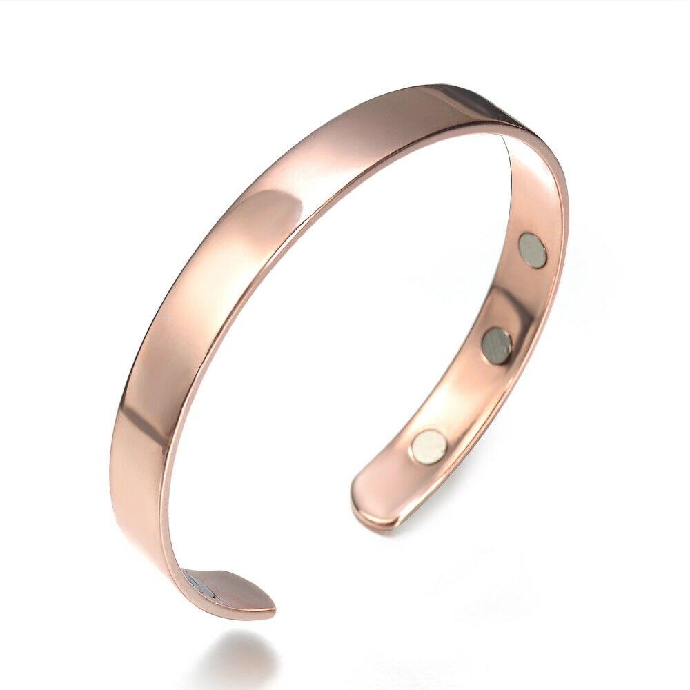 Pure Copper Magnetic Bracelet Arthritis Therapy Energy Jewelry New Arrival Men Women Elegant Jewelry Ornaments