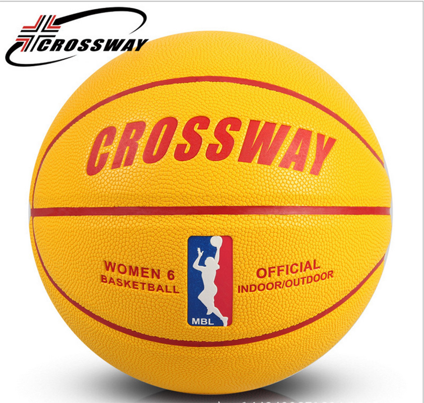 CROSSWAY PU Size 6 Competition Student Women's Basketball LQ-666-664-663 p76 420 women s basketball size 6