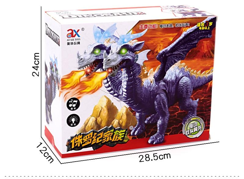 Dinossauros Jurássicos Caminhada Leve Dupla Elétrica