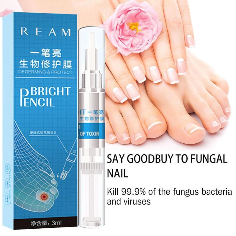 Image 5 - 3ml Restores Healthy Nail Solution Anti Fongique Infection Nail Bright Pencil Fungal Treatment Anti Fungus Biological-in Patches from Beauty & Health