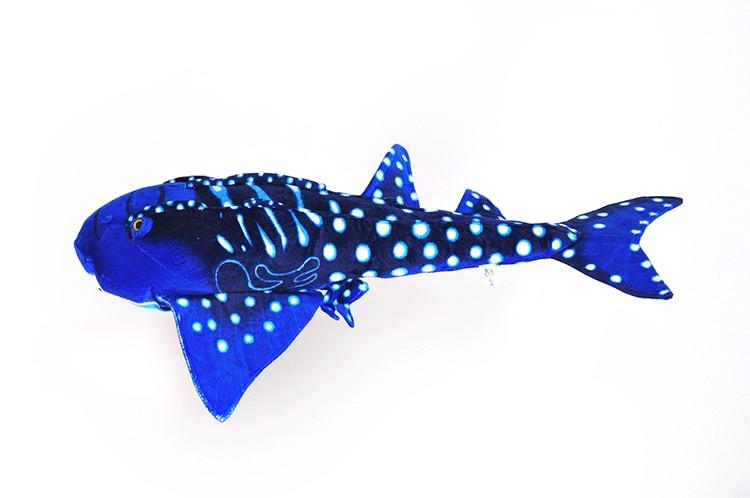 new plush Skate toy stuffed simulation dark blue Skate doll gift about 88x50cm 2740 stuffed animal 80cm plush tiger toy about 31 inch simulation tiger doll great gift free shipping w016