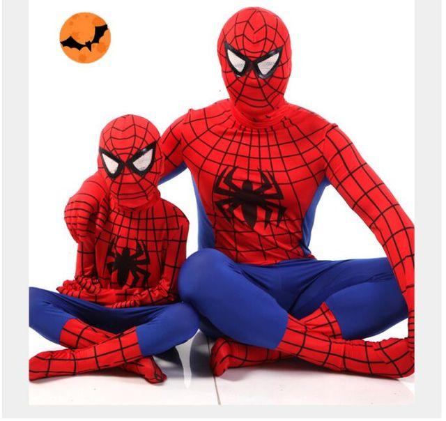 CaGiPlay bambini Superhero Movie Nero Spiderman Costume Vestito uomo Ragno  Spider-man Costumi Adulti Bambini 18ac3bf50301
