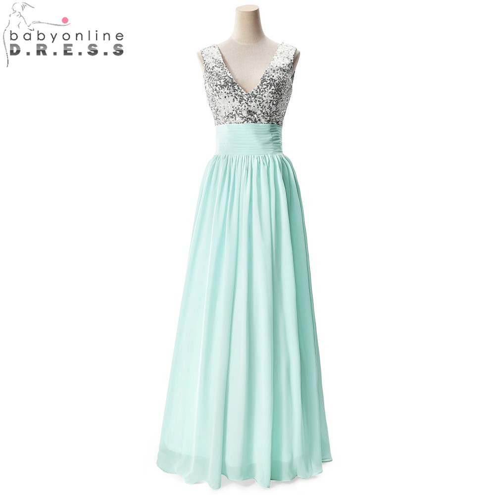 Online Get Cheap Silver Sequin Bridesmaids Dress -Aliexpress.com ...