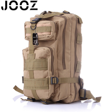 2017 JOOZ Men Camouflage Backpack Military Survival Rucksack Man Travel Mountaineering Bag Large Capacity Luggage Bags Mochila