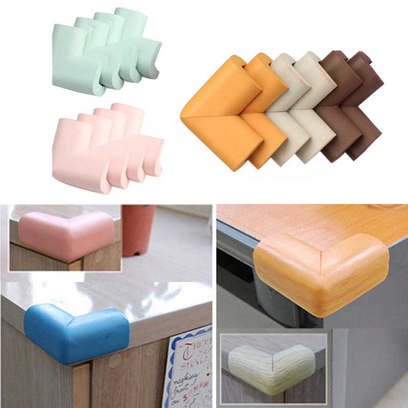 4pcs/set Kids Baby Safety Corner Protector Cover Children Anti Collision Edge Corner Cover Table Corner Protection Guards
