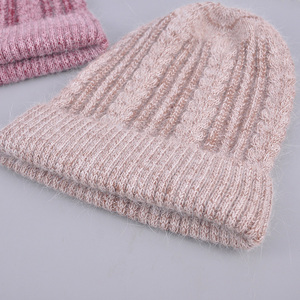 Image 1 - [Rancyword] good quality hats womens beanies hat Spring Autumn knitted with wool caps gorros New arrival popular RC1223 1