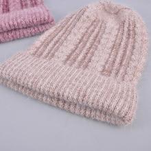 [Rancyword] באיכות טובה כובעי נשים של בימס כובע אביב סתיו סרוג עם צמר כובעי gorros חדש הגעה פופולרי RC1223 1