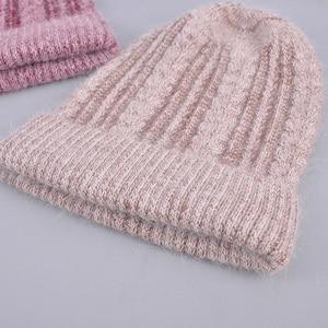 Image 1 - [Rancyword] באיכות טובה כובעי נשים של בימס כובע אביב סתיו סרוג עם צמר כובעי gorros חדש הגעה פופולרי RC1223 1