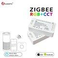 GLEDOPTO ZIGBEE Led controller RGB + CCT RGBW RGB WW/CW zigbee controller dc12-24v smart zll app controller workwith aleax plusle