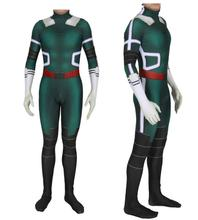 Kids Adult Game Bodysuit My Hero Academia Halloween DeKu Anime Super Cosplay Zentai Costum Jumpsuits