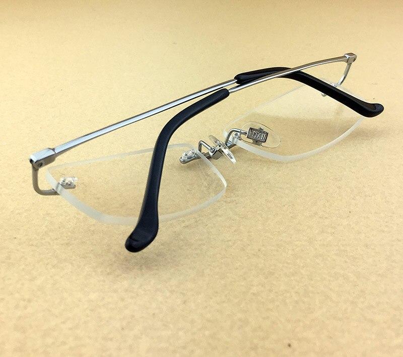 Pure Titanium Myopia Spectacle Frame Տղամարդկանց - Հագուստի պարագաներ - Լուսանկար 4
