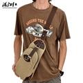 Teenage Canvas Men Chest Sling Bag Vintage Fashion Single Shoulder Bags Zipper Unisex Travel Crossbody Bag Casual Men Package