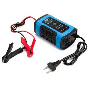 Image 2 - 12V 6A Motorrad Auto Batterie Ladegerät Alle Intelligente Reparatur Blei Säure Lagerung Ladegerät Universal Ladegerät Voll Automatische Ladegerät