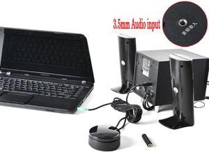 Image 4 - Alto falantes 3.5mm, fones de ouvido, interruptor de áudio, conversor de volume, controlador de potência, ajuste do amplificador
