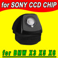 CCD vista Traseira câmera traseira reversa para BMW X6 E71 BMW X5 E53 E70 BMW X3 E83 E72 à prova d' água NTSC PAL (opcional)