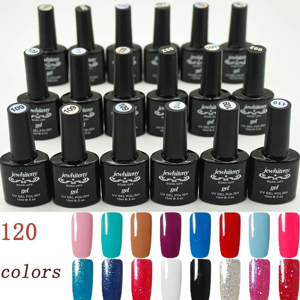 Vernis À ongles soak off gel polish vernis Top coat base gel Nail Art Salon Recommandé 120 Couleurs Disponibles Laque uv gel