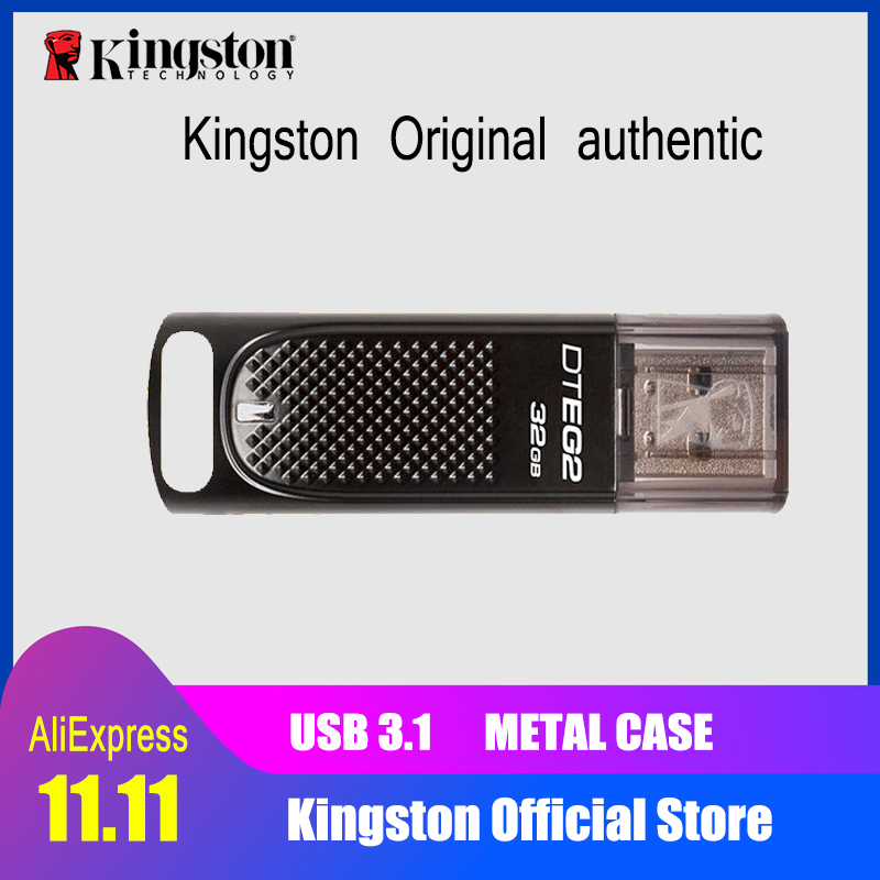 Kingston 64gb USB flash drive 128GB Pendrive High speed 180mb/s USB 3.1 32gb pen drive package Flash Memory Stick New Usb 3.0 цена и фото
