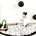 Moda Macio Balck & White Portátil Crianças Tapetes de Jogo Do Bebê Esteira do Jogo rastejando Cobertor Rodada Crianças Jogar Jogos Tapete Infantil quarto