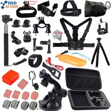Accessories kit for Go pro / Gopro Hero 5 4 3+2 Chest Belt Head Mount Strap for xiaomi yi action camera GS02 12D