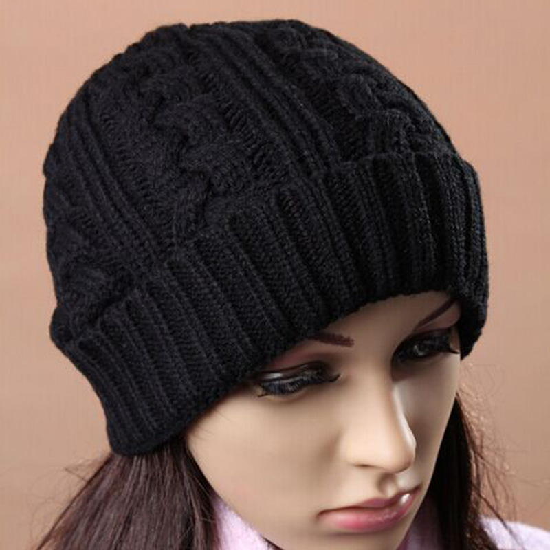1 Pcs 2015 New Hot Sell Twist Acrylic Knitted Cap Autumn Warm Hats For Women And Men Skullies Beanies 3 Colors 1 pcs autumn winter hot sell knitted cap brand skullies beanies hats for men caps 4 colors 8514
