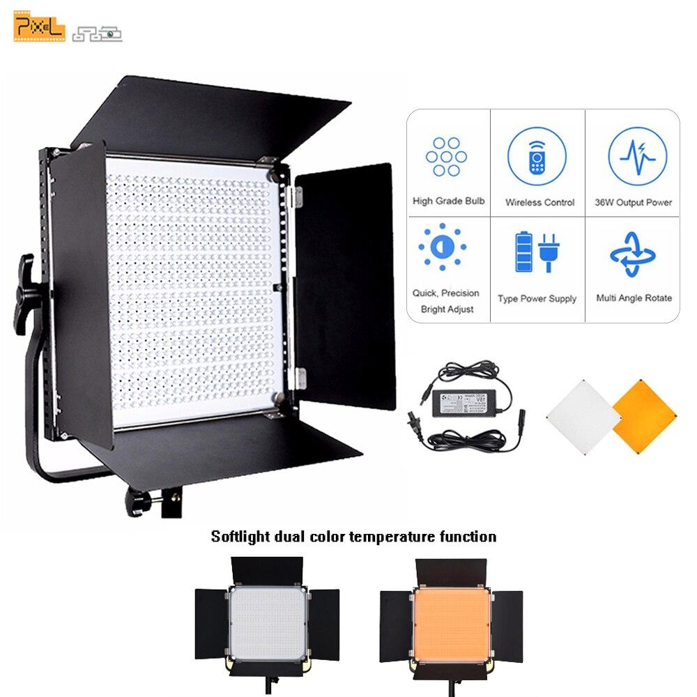 Pixel K80 photographie professionnelle 2.4G Transmission sans fil lampe à LED Photo extérieure lumière de mariage Film photographie vidéo lumière