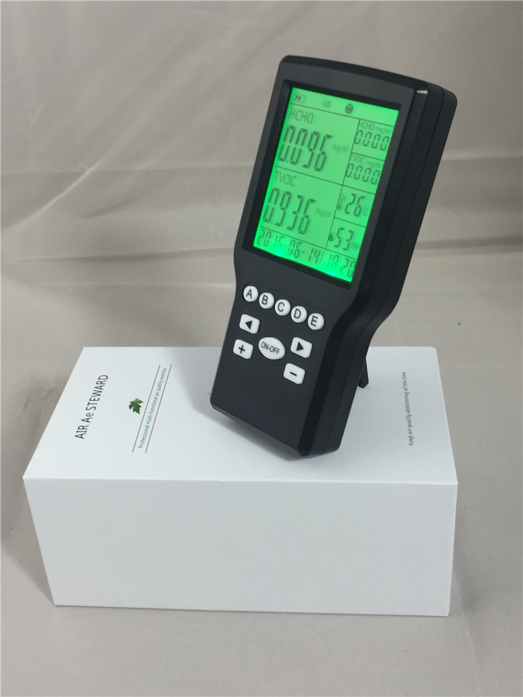 Portable Formaldehyde Tester HCHO indoor air quality monitor Gas   Detector Meter