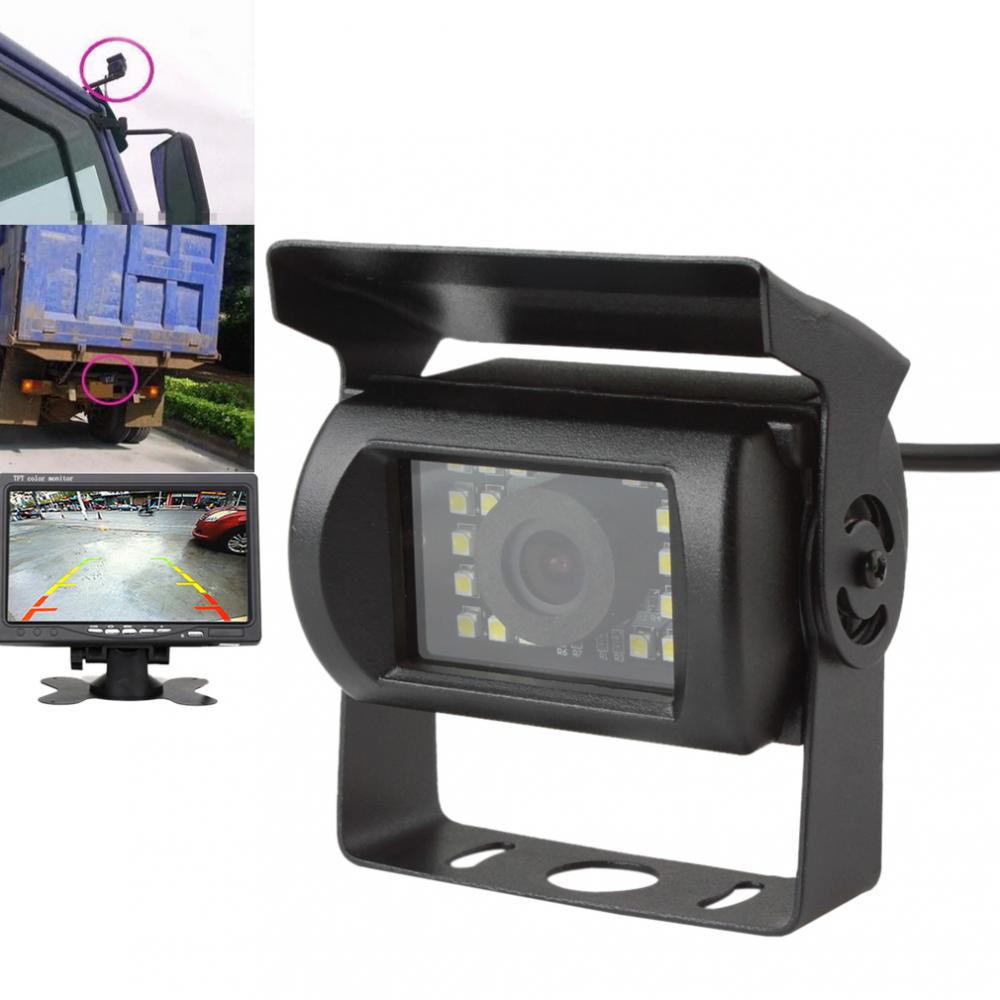 Waterproof And Anti Shock LED Rear View 120 Degrees Night Vision Truck Bus Van Monitor Parking