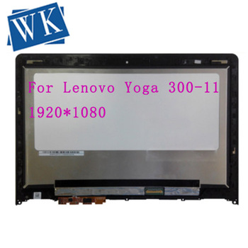"""For Lenovo Yoga 3 11 80J80021US Touch screen Digitizer Display N116HSE-EBC 11.6"""" LCD LED Assembly FHD IPS with Frame Bezel"""