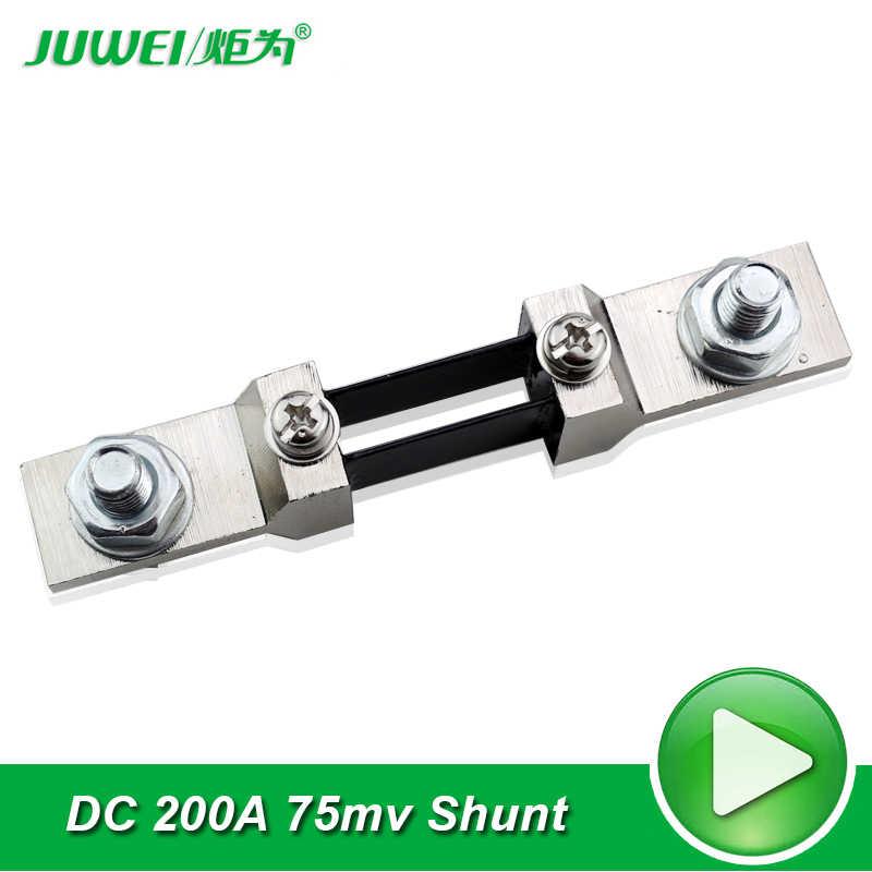 FOTN Per Meter Pannello Corrente analogico DC resistore di shunt 50A 75mV
