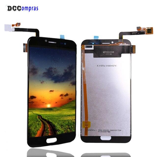 Dla Ulefone T1 wyświetlacz LCD ekran dotykowy Digitizer części zamienne do telefonów dla Ulefone T1 ekran LCD z bezpłatnych narzędzi w