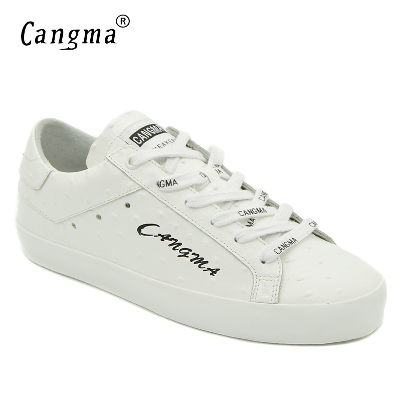 CANGMA Woman White Casual Shoes Hot Sale Genuine Leather Sneakers Footwear Italian Designer Womens Breathable Flats Female ShoesCANGMA Woman White Casual Shoes Hot Sale Genuine Leather Sneakers Footwear Italian Designer Womens Breathable Flats Female Shoes