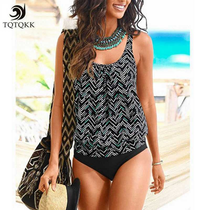 79cb1244fd2 Detail Feedback Questions about 2019 New Sexy Vintage Print Tankini ...