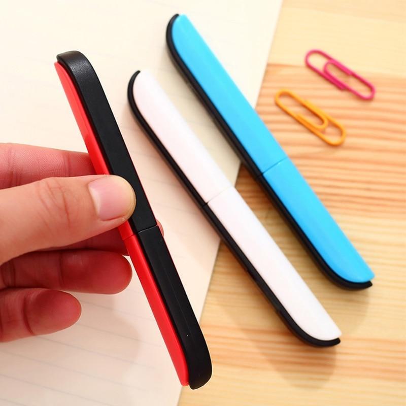 Portable Scissors Candy Hidden Creative Pen Design Student Safe Scissors Paper Cutting Art Office School Supply