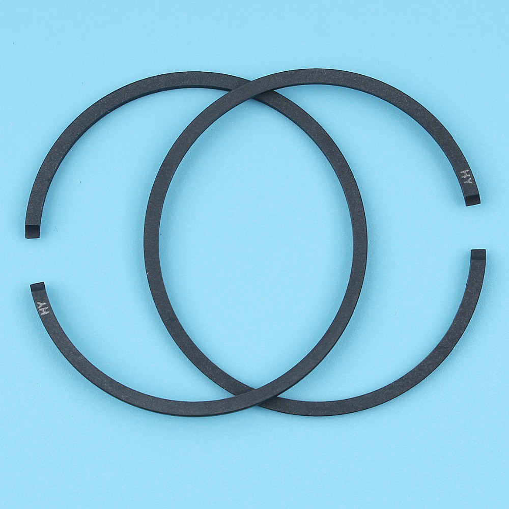 2Pcs/lot Piston Rings 41.1mmx1.5mm For Partner 350 351 352 370 371 390 401 420 Poulan 1950 2150 2250 2450 2550 Chainsaw