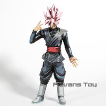 Dragon Ball Z SMSD Super Estrelas Mestre Diorama Goku Super Saiyan Rosa Preto PVC Figura Collectible Toy Modelo(China)