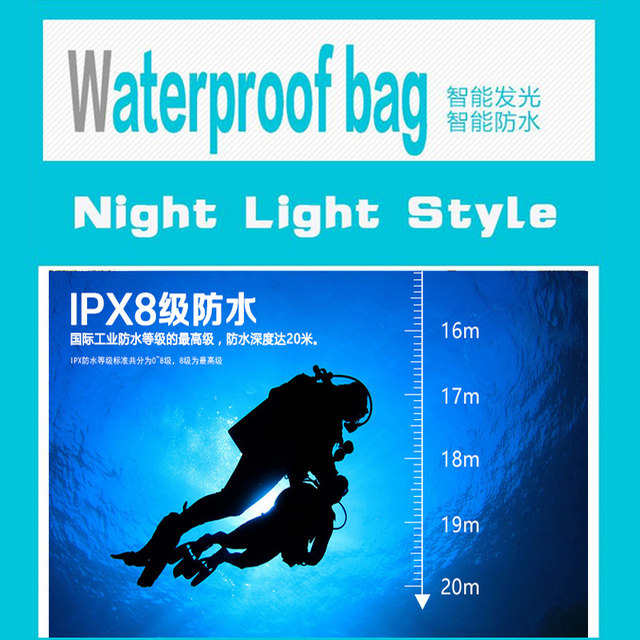 PVC Durable Waterproof Bag 100% Sealed Phone Cases Pouch For LG G3 MINI  D722 D72 Touchscreen Mobile Phone-in Phone Pouch from Cellphones &
