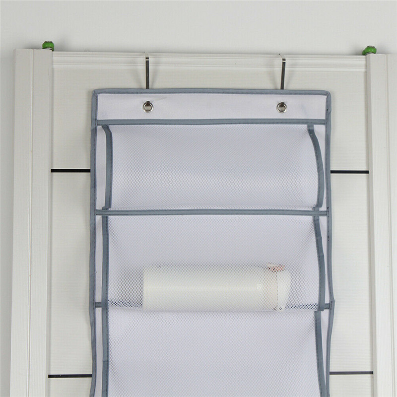 Image 4 - Wall Hanging Storage Bags Organizer Sundries Pocket Pouch Holder Home Decor Household  Large Capacity-in Storage Bags from Home & Garden