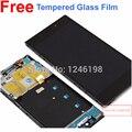 Probado Mejor Woking Pantalla LCD Full + Digitalizador de Pantalla Táctil asamblea para xiaomi m3 mi3 xiao mi con marco frontal/bisel WCDMA