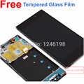Tested Best Woking Full LCD Display + Touch Screen Digitizer Assembly For Xiaomi m3 mi3 xiao mi with Front Frame/Bezel WCDMA