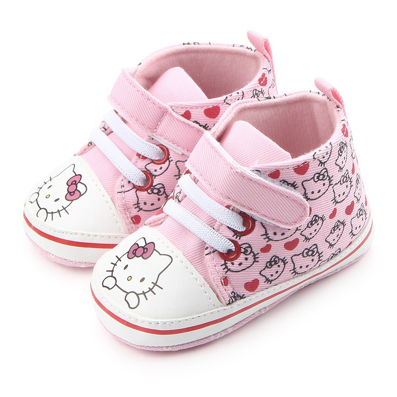 4ad8d3fa6 Latest Bebe Snowfield Booties Keep Warm Thick Cotton Polka Dot Boots Hello  Kitty First Walker Shoes Baby Girls Winter Snow Booty-in First Walkers from  ...
