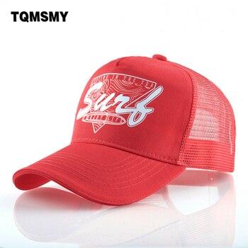 Unisex baseball caps women Breathable Mesh Hip Hop cap men Outdoor surfing bone Snapback caps Sun visor hats truck casquette