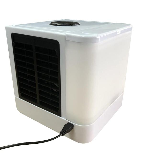 3 In 1 USB Portable Air Conditioner Humidifier Air Purifier Air Cooler Mini Fans Personal Space Air Conditioner Device  3