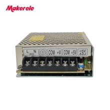 Output Voltage 5V 12V AC-DC Dual Output Switching power supply from maker electric Free Shipping D-30A 30W стоимость