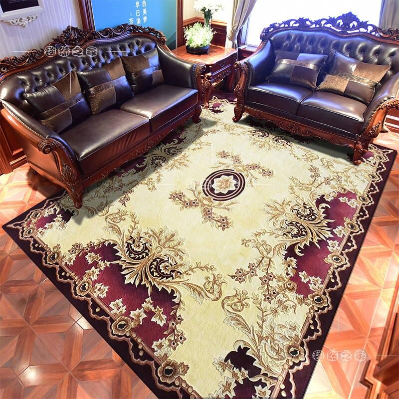 Tapis de laine délicat pour salon tapis de laine de luxe pour décorer salon chambre salle de réunion doux grand tapis maison plancher