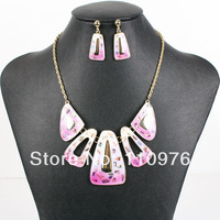 MS17822 Fashion Brand Jewelry Sets Gold Plated Bridal Jewelry Top High Quality Party Gifts Unique Design