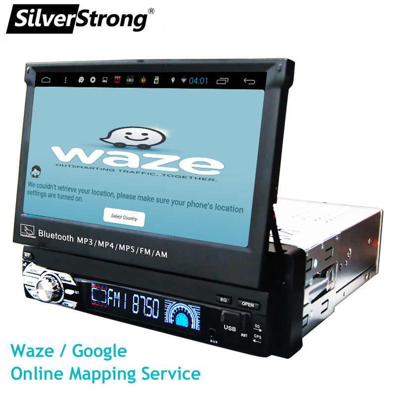 SilverStrong 1Din Android8.1 ユニバーサル 7 インチ車の Dvd オートラジオ Android のカーステレオユニバーサルマルチメディア Kaier によって生成
