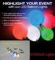 10 Peças/lote Multi-cor Coin Bateria Operado Partido Congelado Decoração Micro Mini Luzes Led Balão Para Artesanato